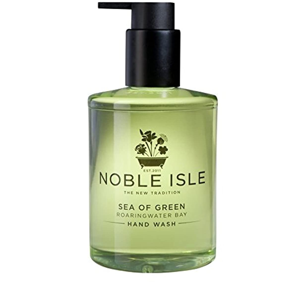 支店リクルート削除する緑ベイハンドウォッシュ250ミリリットルの高貴な島の海 x2 - Noble Isle Sea of Green Roaringwater Bay Hand Wash 250ml (Pack of 2) [並行輸入品]