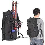 Fansport Fishing Tackle Bag Lightweight Fishing Tackle Backpack Fishing Rod Bag Fishing Gear Bags