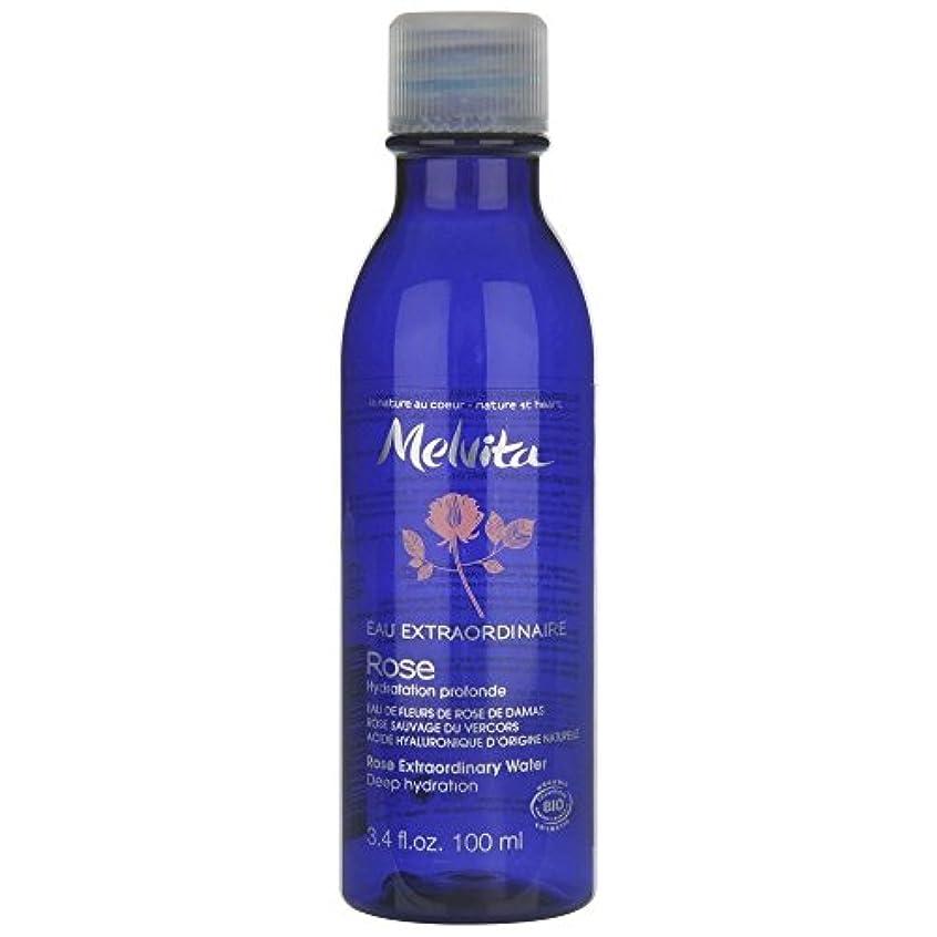 シャベル傾いた大事にする[Melvita] メルヴィータは、100ミリリットルの臨時ローズ水 - Melvita Rose Extraordinary Water, 100ml [並行輸入品]