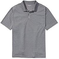 Amazon Essentials Men's Big & Tall Quick-Dry Stripe Golf Polo Shirt
