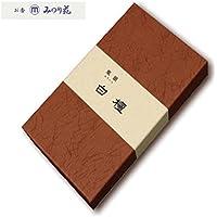 みのり苑 線香 風韻 白檀 短寸 天然香料 (100 グラム)
