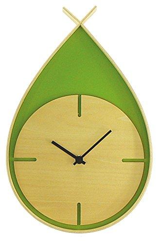 ヤマト工芸 TEARS CLOCK W (掛け時計)  グリーン YK06-001