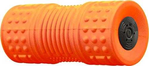 商品名:EasyChange 振動フォームローラー ぶるぶるロール ヨガポール ストレッチ用ポール【安心の日本メーカー】 (オレンジ)