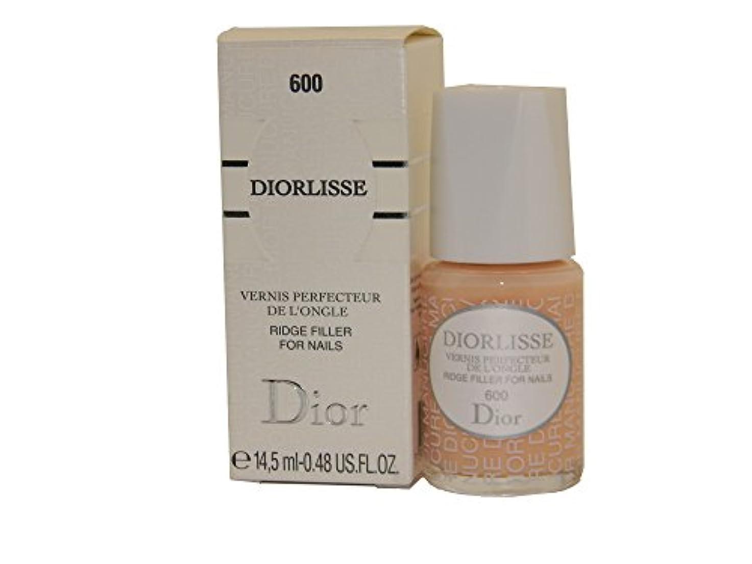 安西ねじれなめるDior Diorlisse Ridge Filler For Nail 600(ディオールリス リッジフィラー フォーネイル 600)[海外直送品] [並行輸入品]