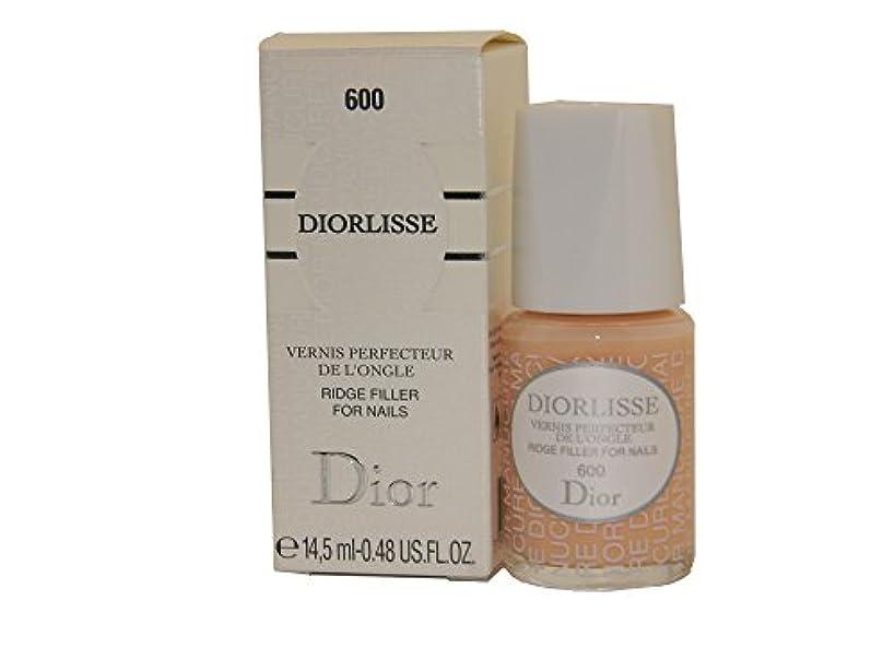 委員長付属品粘着性Dior Diorlisse Ridge Filler For Nail 600(ディオールリス リッジフィラー フォーネイル 600)[海外直送品] [並行輸入品]