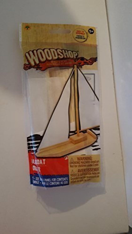 Woodshop Build and Play Sailboat [並行輸入品]