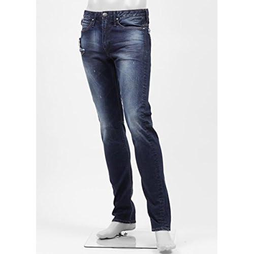 (ジミー タヴァニティ) JIMMY TAVERNITI ストレッチジーンズ 29サイズ BLACKIE TIGHT FIT/REGULAR RISE/NARROW LEG インディゴブルー [並行輸入品]