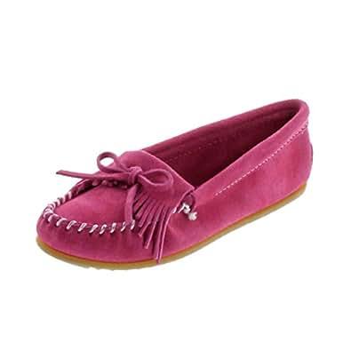 (ミネトンカ) MINNETONKA モカシン キルティ KILTY SUEDE MOC キルティ モカシン スエード モック モカシン レディース 本革 靴 23.5cm(US6.5) PINK(401) [並行輸入品]