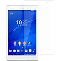 【BOW】SONY Xperia Z3 Tablet Compact 専用 タブレット ガラス フィルム 強化ガラス 液晶 保護 フィルム film ガラス シート【 前面 】 厚さ0.33mm 2.5D 硬度9H 飛散防止 指紋防止 自動吸着 10.1インチ (Xperia Z3 Tablet Compact)
