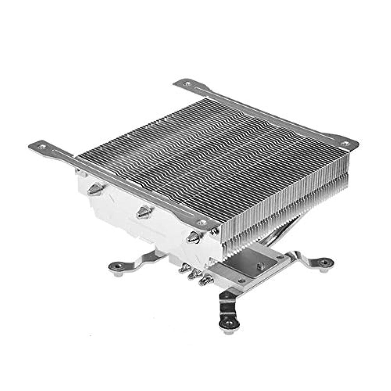鉱夫偏心空中vanpower CPU PCケース HTPC加圧ダウンアルミニウム 3ヒートパイプラジエーターヒートシンク
