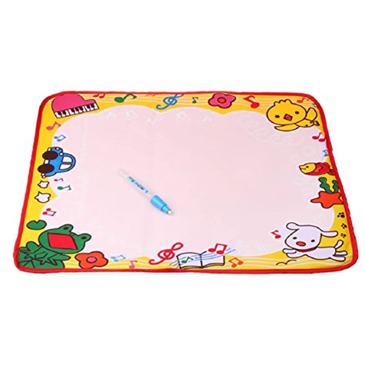 Lookatool 48*36CM Water Drawing Painting Writing Mat Board Magic Pen Doodle Kids Toy Gift L