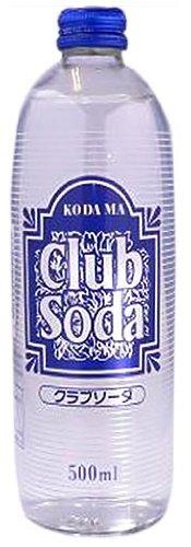 コダマ クラブソーダ 瓶 500mlx15本