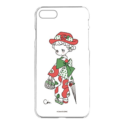 caho iPhone7 ケース クリア ハード プリント ...
