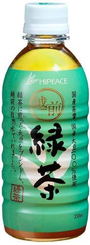 ハイピース 越前緑茶 ペット 330ml