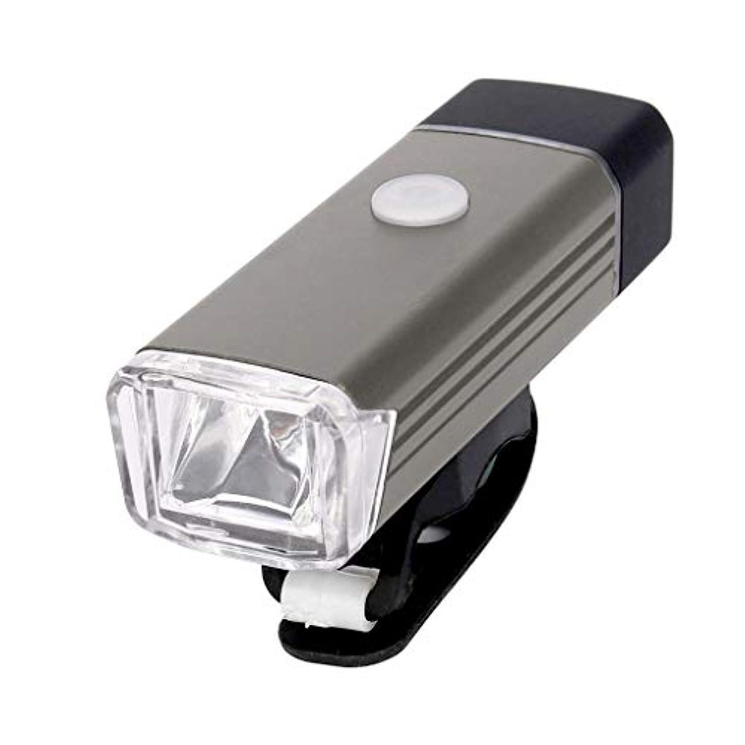 ドナーデンプシー重々しいPalaver 自転車用ライトセット パワフル 充電式 超明るい LED フロントサイドライト 無料のリアテールライト