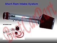 9900ホンダシビックHX EX SI 1.6l4Short Ram Intakeレッド(含まエアフィルタ) # sr-hd004r