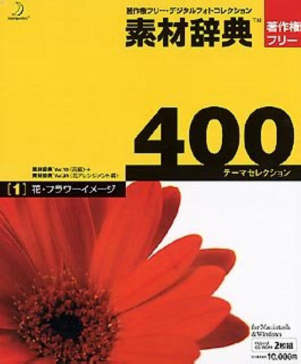 素材辞典 400 1 花?フラワーイメージ