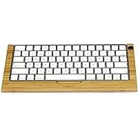 ウッドクラフトアップル(Apple) MLA22J/A Magic Keyboard(MLA22LLが/ A)のiMac/ Mac Proのデスクトップコンピュータマジックキーボードデスクトップコンピュータ用スタンドブラケットドックキーボードホルダーステント (カバノキ)