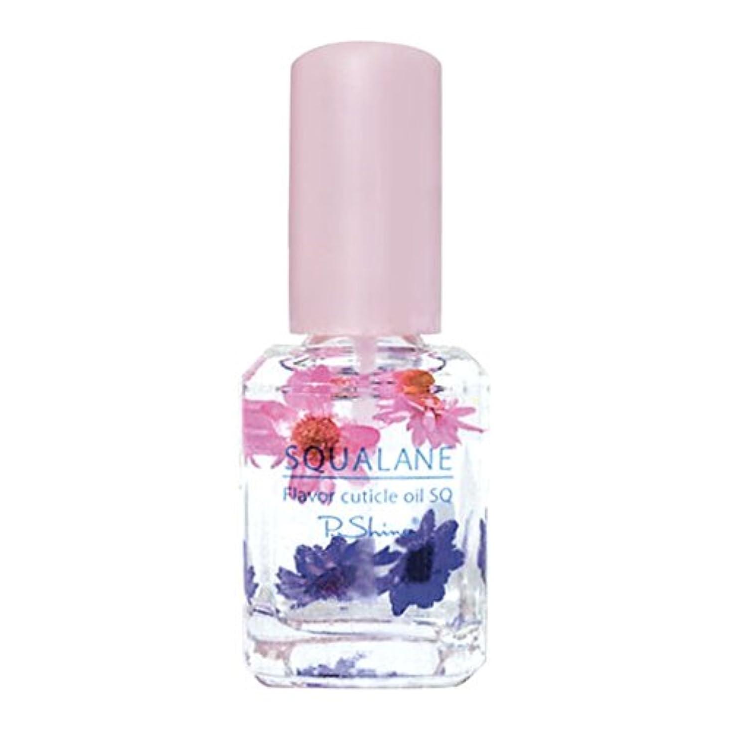 有望頑丈のヒープP. Shine フレーバーオイルSQ フラワーリゾート 南国の花の甘く優しい香り スクワランオイル