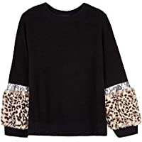 Amy Byer Girls' Long Colorblock Sleeve Top