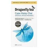 1パック有機ルイボスチャイティーバッグ20をトンボ - Dragonfly Organic Rooibos Chai Tea Bags 20 per pack [並行輸入品]
