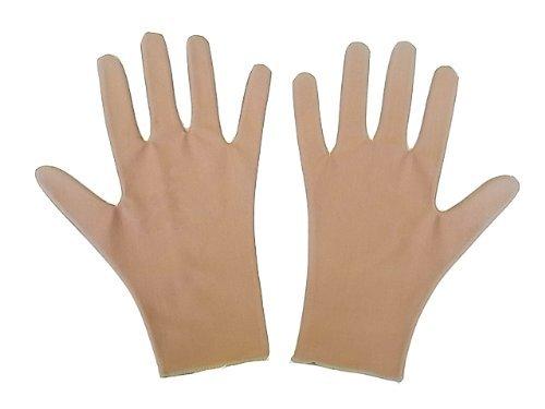 撥水スケート用手袋 10歳用 肌色...