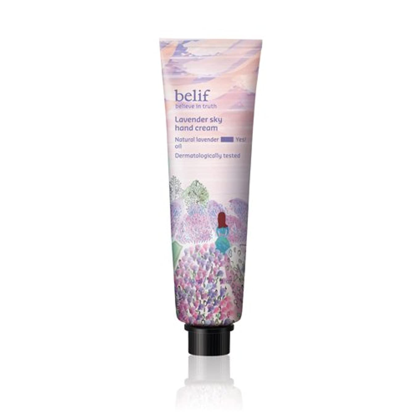 観察するリテラシーバンドBelif(ビリーフ)Lavender sky hand cream 30ml/ラベンダースカイハンドクリーム