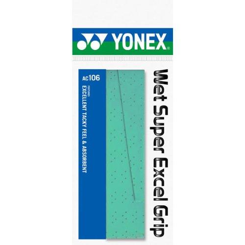 ヨネックス ウェットスーパーエクセルグリップ 1 本 グリーン 1パック 1本 YY AC106 003