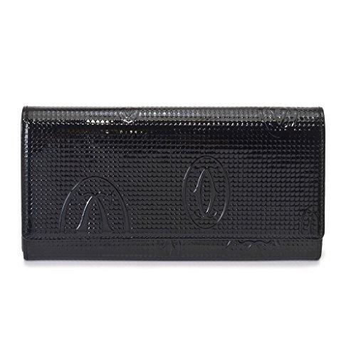 カルティエ 財布 L3001284 ブラック ハッピー バー...