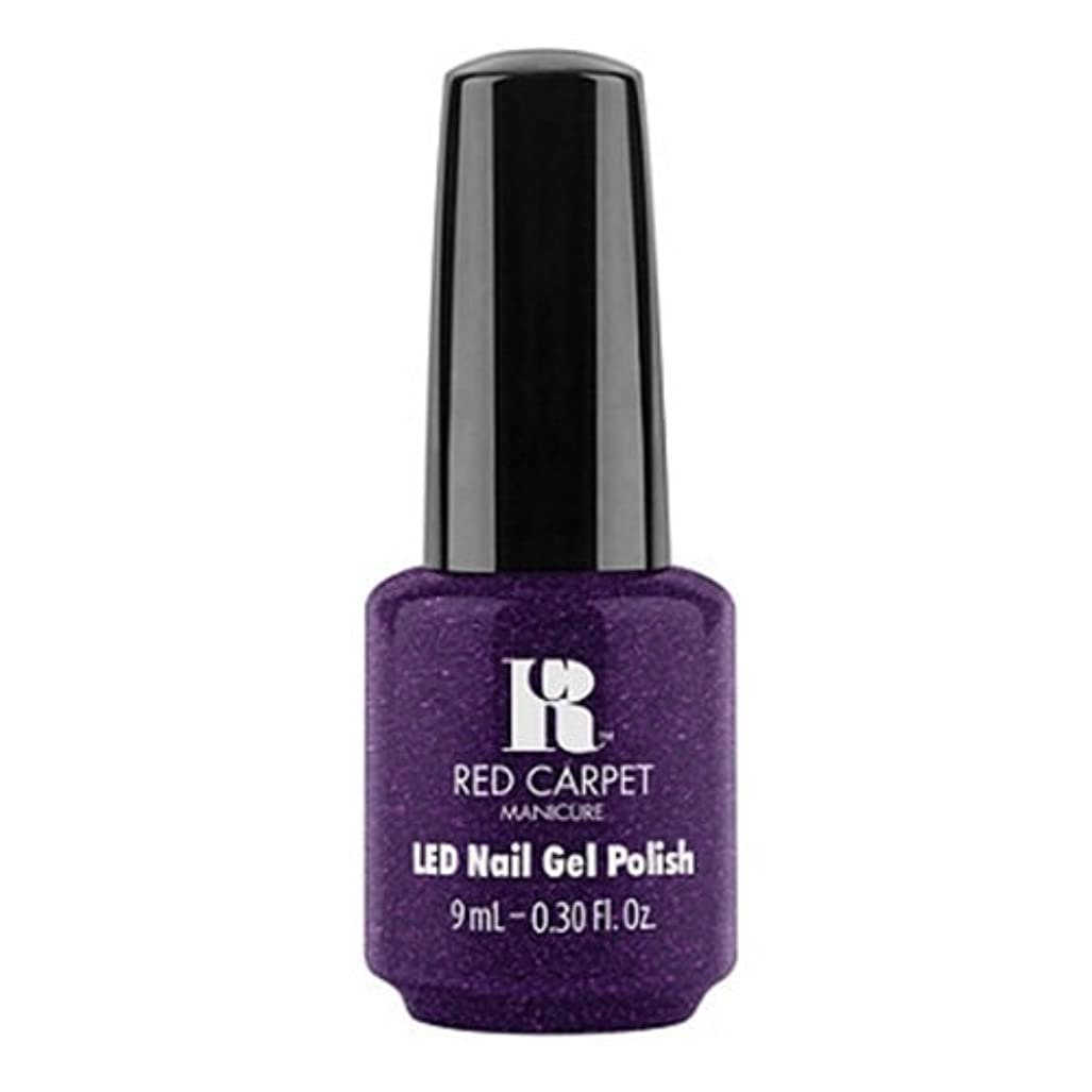 ペルーノベルティ変化するRed Carpet Manicure - LED Nail Gel Polish - Fashion Forward - 0.3oz / 9ml