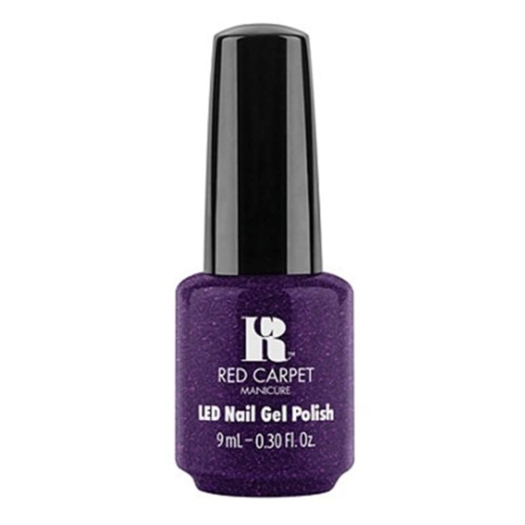 わかりやすい軌道識字Red Carpet Manicure - LED Nail Gel Polish - Fashion Forward - 0.3oz / 9ml