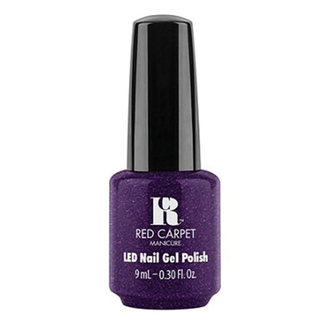 毎月サドル巻き取りRed Carpet Manicure - LED Nail Gel Polish - Fashion Forward - 0.3oz / 9ml