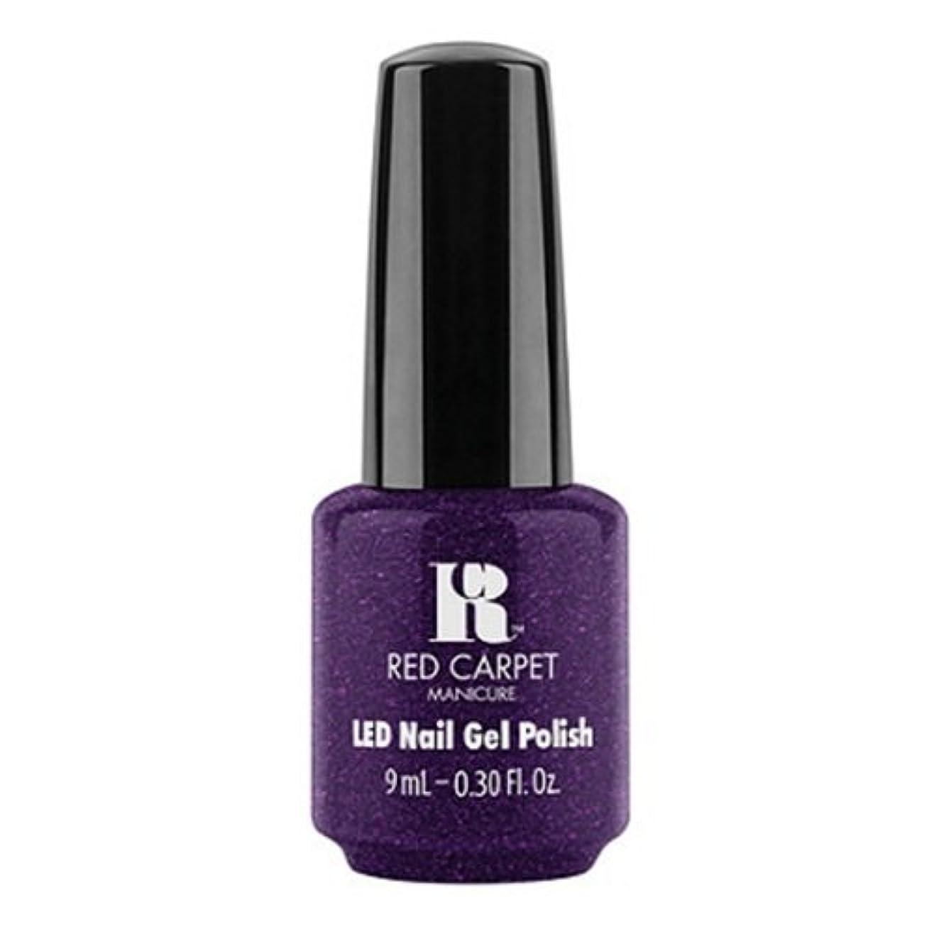 振る舞うお手入れカバレッジRed Carpet Manicure - LED Nail Gel Polish - Fashion Forward - 0.3oz / 9ml