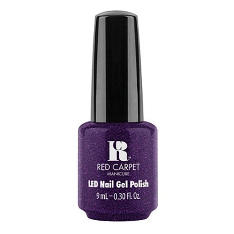 遺伝的モーションホストRed Carpet Manicure - LED Nail Gel Polish - Fashion Forward - 0.3oz / 9ml