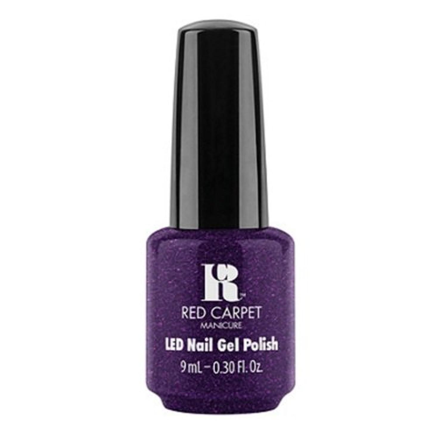 カラススモッグ異常なRed Carpet Manicure - LED Nail Gel Polish - Fashion Forward - 0.3oz / 9ml