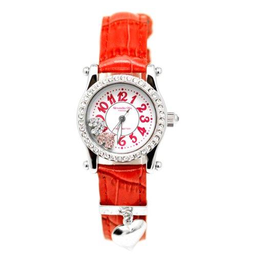 [アレサンドラオーラ]Alessandra Olla 腕時計 ムービングハート AO-4100-5-RE レディース