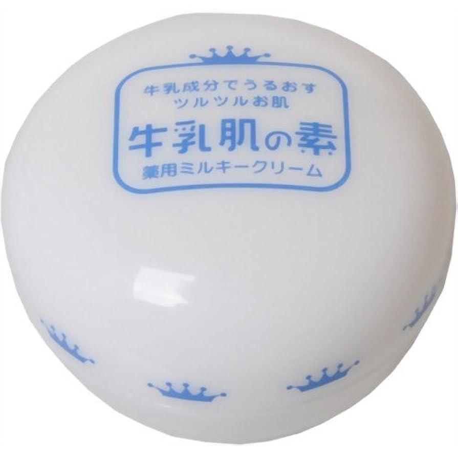 ブローホール偏見撤回する牛乳肌の素 薬用ミルキークリーム 20g
