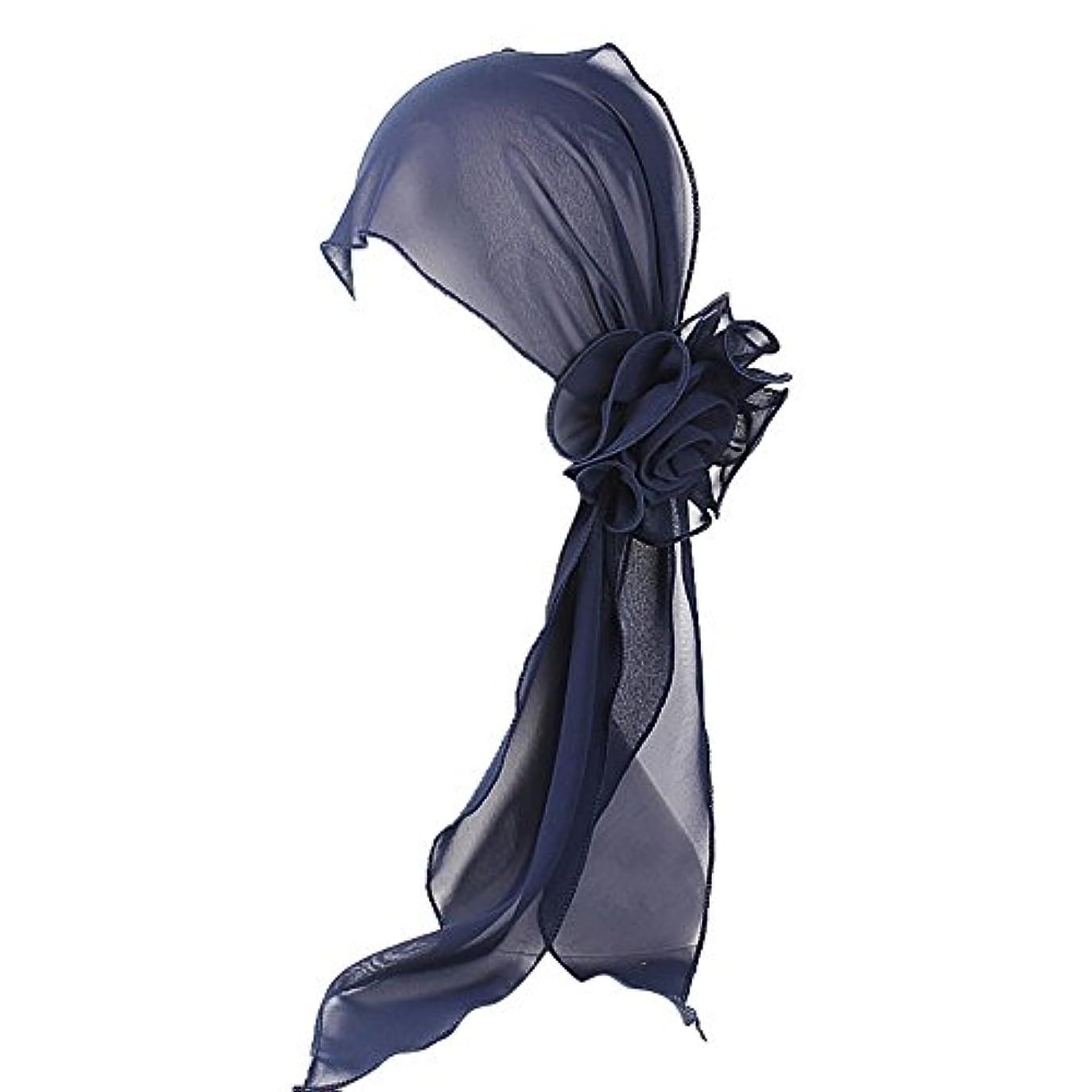 不快な気分バズヘッドスカーフ ハット 帽子 Timsa レディース スカーフキャップ 花の形 ヘッドスカーフ 睡眠 抗UV 脱毛症 化学療法の患者のために バイザー 夏用帽子 イスラム教徒 フヘッドバンド スカーフ ヒジャブ 山の日...