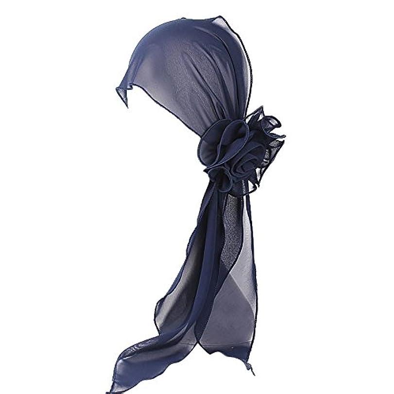感謝祭ハミングバードコーナーヘッドスカーフ ハット 帽子 Timsa レディース スカーフキャップ 花の形 ヘッドスカーフ 睡眠 抗UV 脱毛症 化学療法の患者のために バイザー 夏用帽子 イスラム教徒 フヘッドバンド スカーフ ヒジャブ 山の日...
