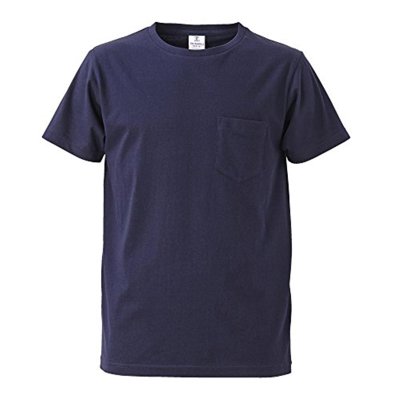 ユナイテッドアスレ 4.7オンス ファインジャージー Tシャツ ネイビー CAB 574701 86