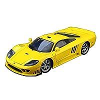 GAOQUN-TOY 1:12 Saleen S7シミュレーション合金車種コレクション美筋スポーツカーモデル(色:黄色)