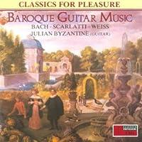 Bach;Baroque Guitar Music