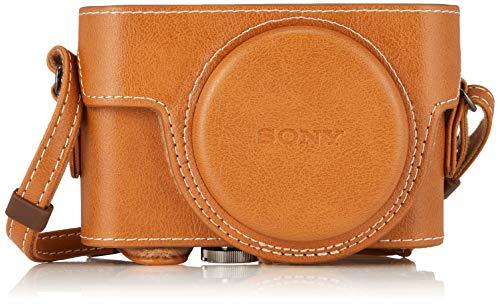 ソニー SONY デジタルカメラケース ジャケットケース ベージュ LCJ-RXF C
