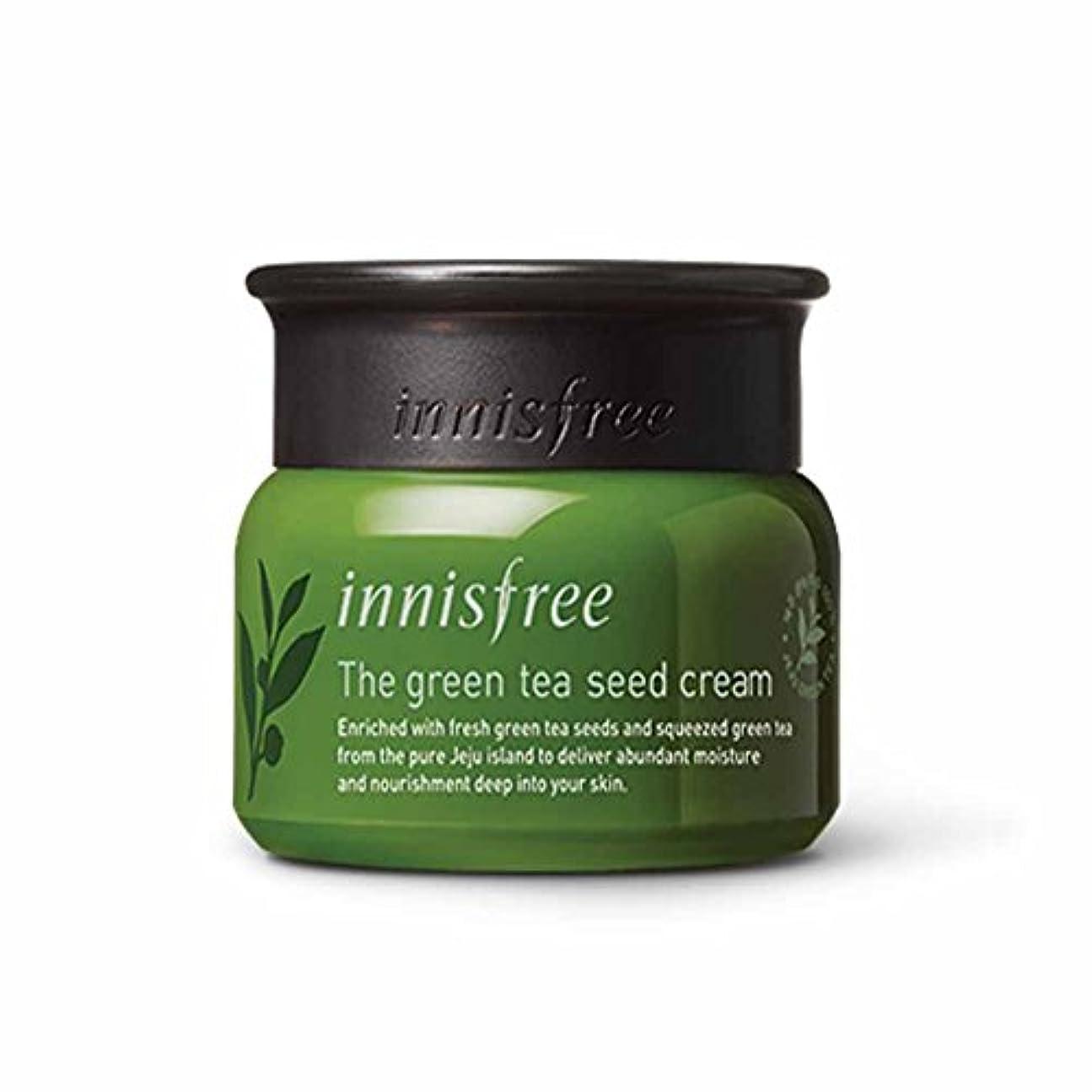 線形悪名高い気楽なイニスフリーグリーンティーシードクリーム50ml Innisfree The Green Tea Seed Cream 50ml[海外直送品][並行輸入品]