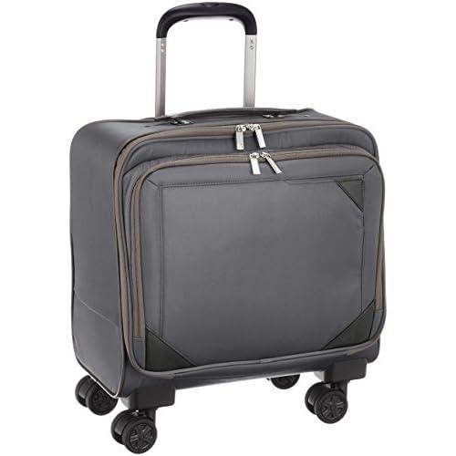 [エースドットジーン] ビステア ビジネストロリー 21? 3.2kg キャスターストッパー付き 横型 機内持込可  21L 35cm 3.2kg 59081 09 グレー