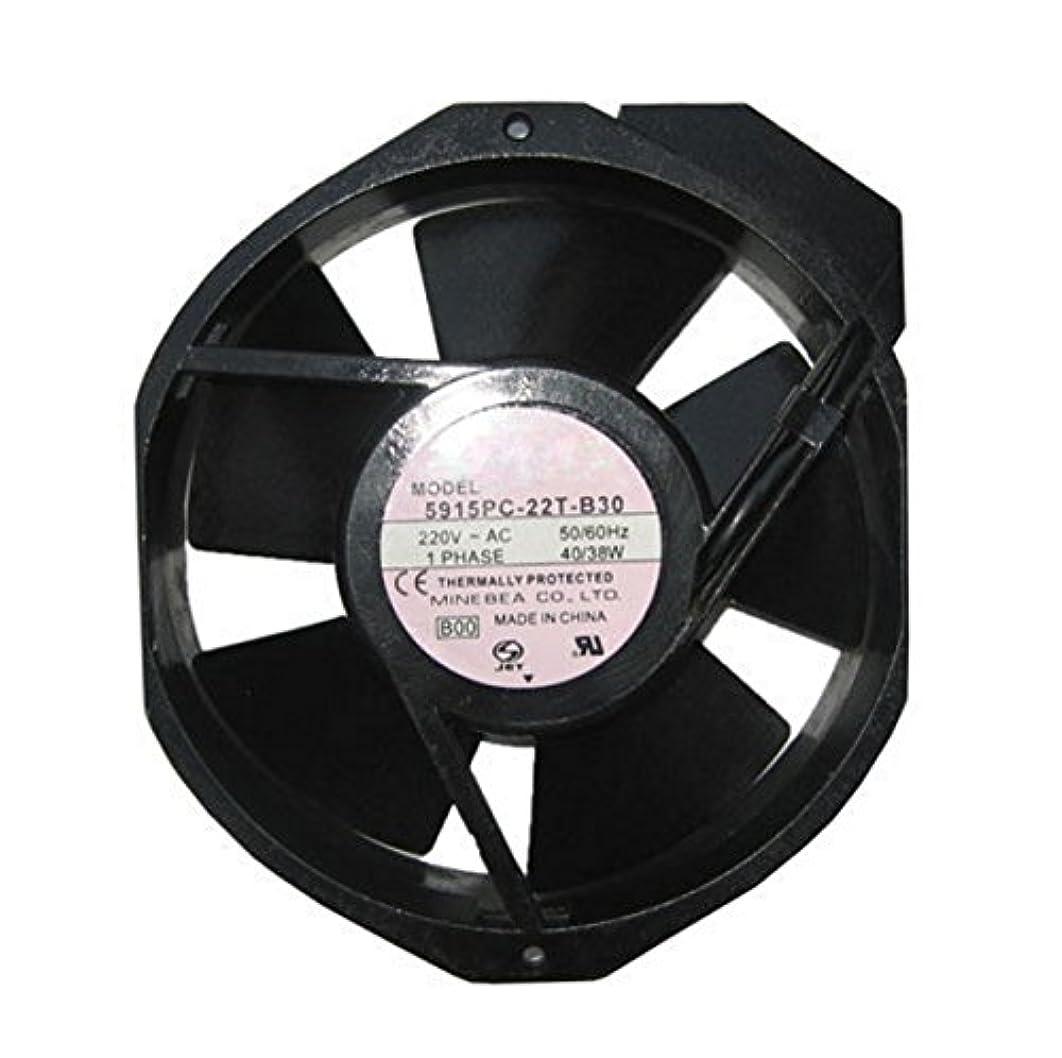直接判定深さ5915pc-22t-b30周波数コンバータファンAxial 220 VACボール軸受チューブシャフト冷却ファン