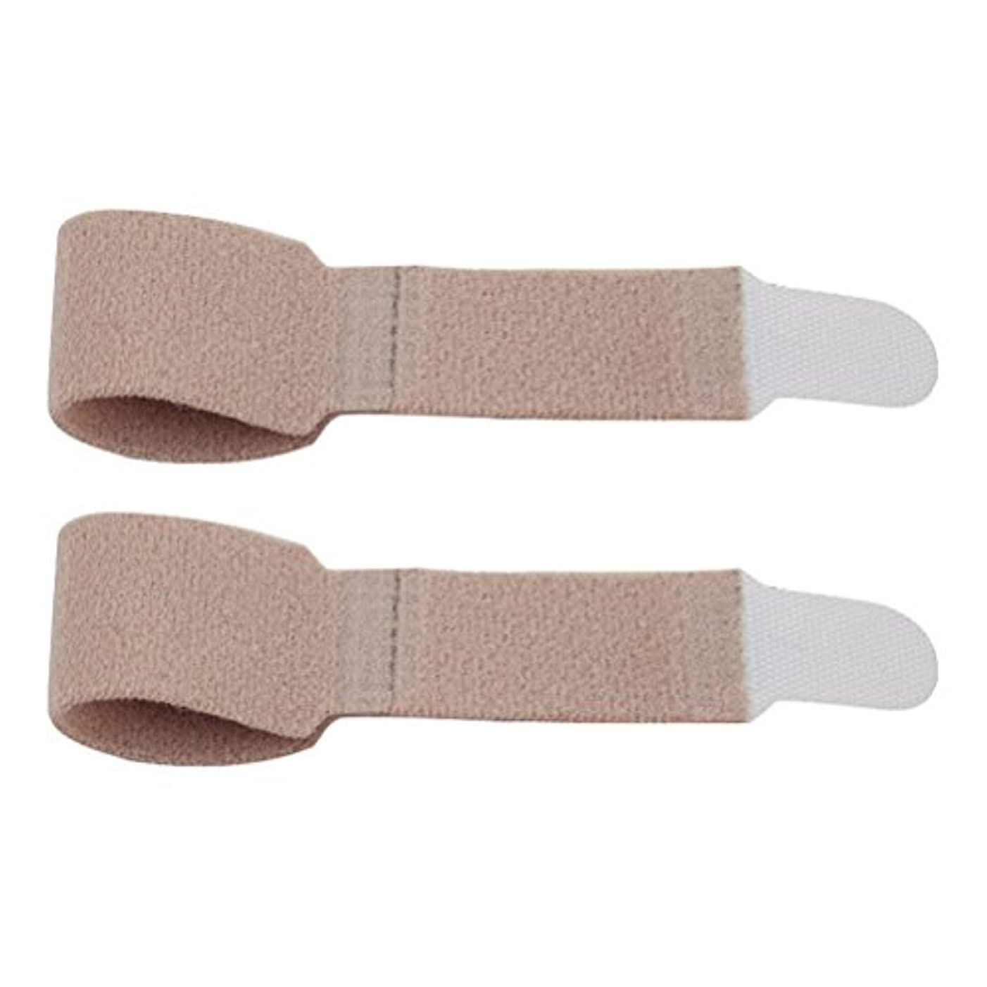 いつもウェイド石化するHealifty 足指サポーター 足指セパレーター 指兼用 指サポーター 包帯 外反母趾 足指矯正 姿勢補正 浮き指 保護 固定 悪化防止 1ペア
