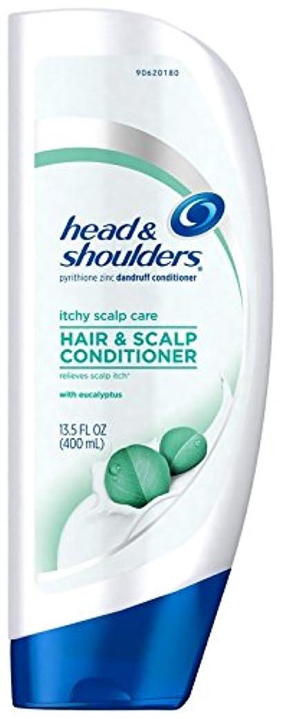 雄弁な振動させる教養があるHead & Shoulders ユーカリとかゆみ頭皮ケアコンディショナー - 13.5オズ