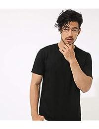 (アズールバイマウジー) AZUL by moussy Tシャツ スター ジャガード Vネック 半袖T メンズ