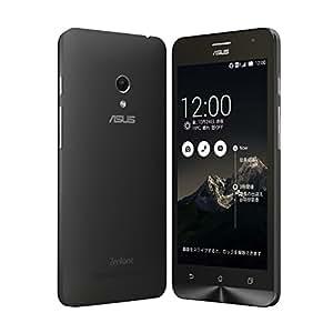 【国内正規品】ASUSTek ZenFone5 ( SIMフリー / Android4.4.2 / 5型ワイド / microSIM / 32GB / LTE / ブラック ) A500KL-BK32